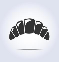 bagel simple symbol vector image