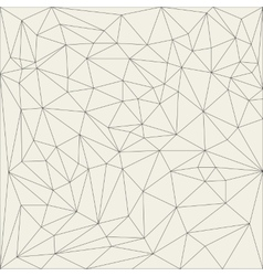 Irregular abstract linear grid Reticulated vector