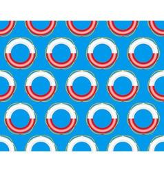 Lifebuoy pattern vector image