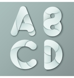 Modern Capital Letter Y vector image