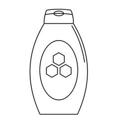 Propolis tube icon outline style vector