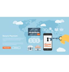 Secure payment vector