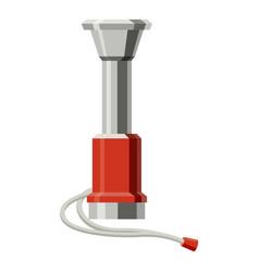 vuvuzela icon cartoon style vector image
