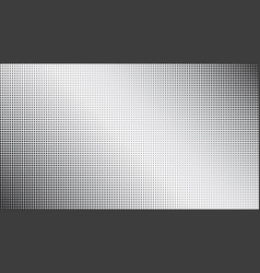 abstract black dotted and gradiented background vector image