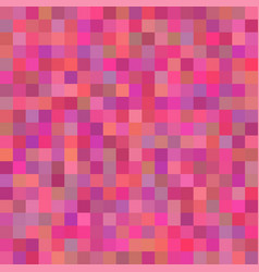 background art colored pink squares mosaic vector image