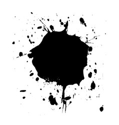 blot black2 vector image