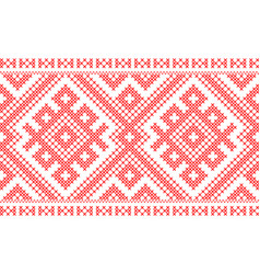 traditional russian and slavic ornament vector image