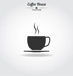 Coffe cup icon vector image vector image