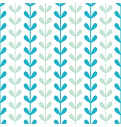 Abstract vines leaves seamless pattern background vector image vector image