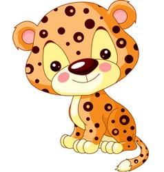 cartoon Jaguar vector image vector image