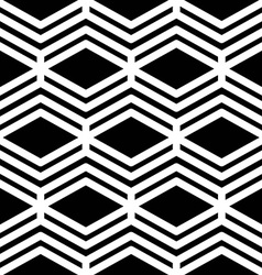 Black and white abstract textured geometric vector