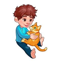Children pet 1 vector image