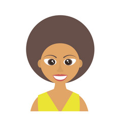 female woman adult young vector image
