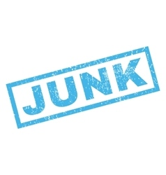 Junk Rubber Stamp vector