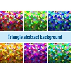Multicolor triangular vector
