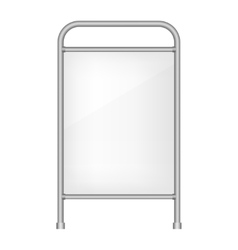 Ad banner vector image vector image