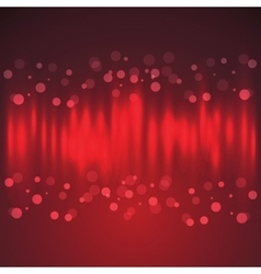 Celebration Background with Light Effect and Bokeh vector image vector image