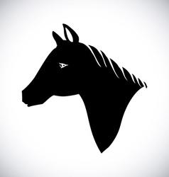 Horse design vector image vector image