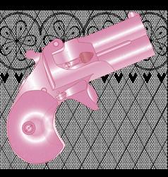 ladies gun vector image