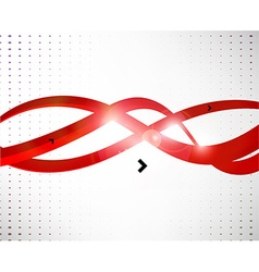3D Curved Lines Background vector