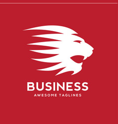 best lion head logo vector image