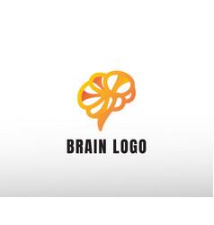 Brain creative logo logo organ logo vector