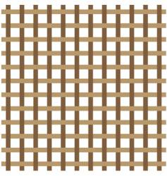 Brown weave vector