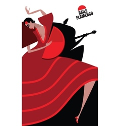 Flamenco vector image