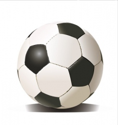 Football soccer ball vector