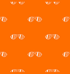 Glasses pattern seamless vector