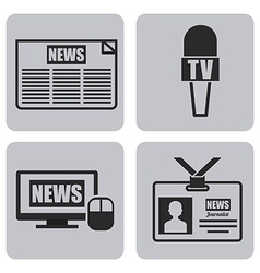news concept vector image