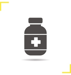 Painkiller icon vector