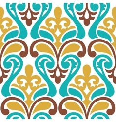 Seamless damask pattern Classic background vector