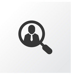 search for workers icon symbol premium quality vector image