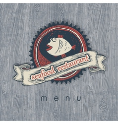 Fish restaurant vector