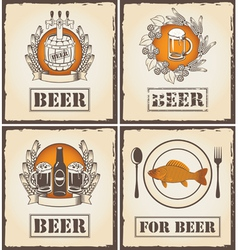 for beer vector image vector image