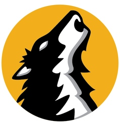 wolf 2 vector image