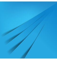 Abstract blue background overlap layer and shadow vector image vector image