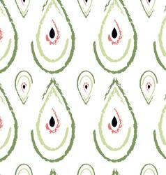 Watermelon drops pattern vector image
