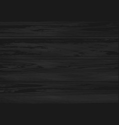 black wooden texture natural dark old wood vector image