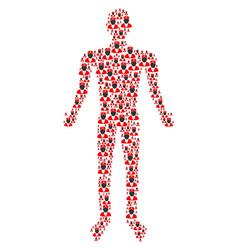 doctor human figure vector image