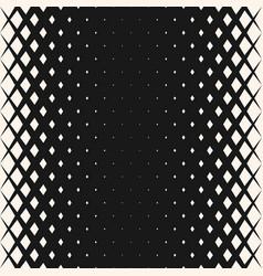 Geometric halftone seamless snake pattern vector