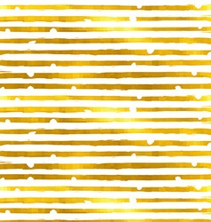 Gold textured seamless pattern of golden stripes vector image