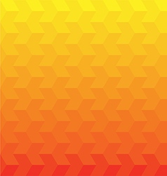 Orange geometric background vector