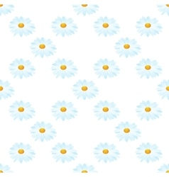 seamless of camomiles vector image