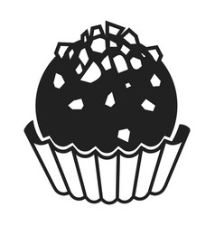 Truffle icon simple style vector