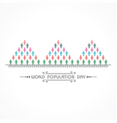 World population day greeting-11 july vector