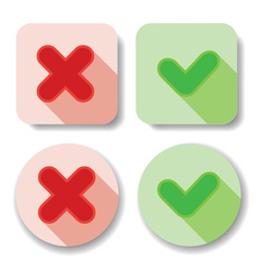 check marks vector image vector image