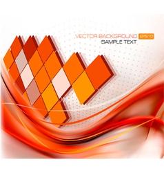 elegant red background vector image