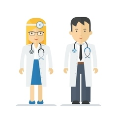 profession medical doctor vector image vector image